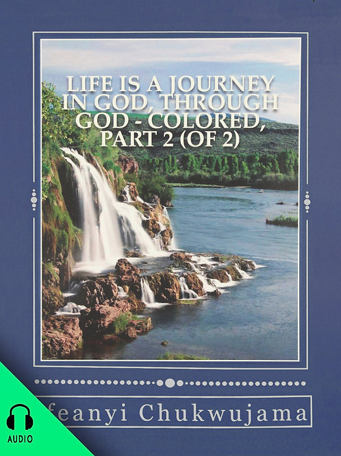 Life Is A Journey In God Through God! Part 2 (AUDIO BOOK)