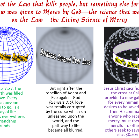 Human sin brought Cursed on all of the earth, and on everything in the world.