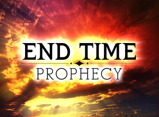 The End Time is well underway!