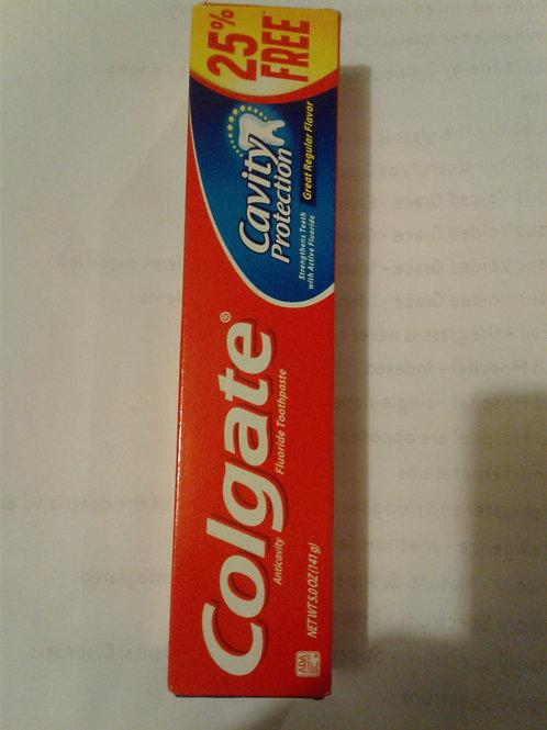 Colgate Anti-cavity Fluoride Toothpaste, 5 oz