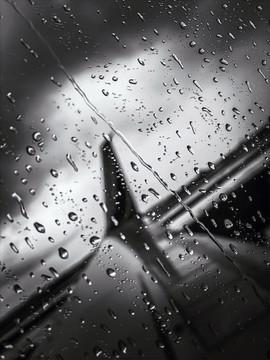 Rain and flights
