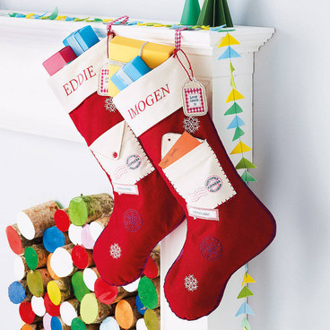 16 of the most charming Christmas stockings