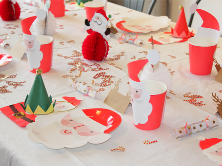 A Christmas party with Party Pieces