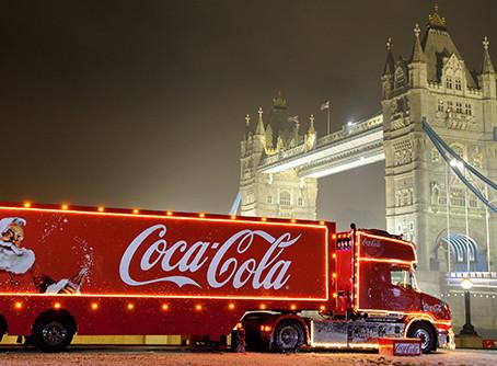 Coca-Cola Christmas truck tour 2017