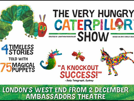 Theatre Review: The Hungry Caterpillar