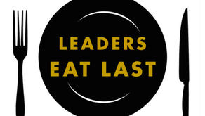 Leaders Eat....First?