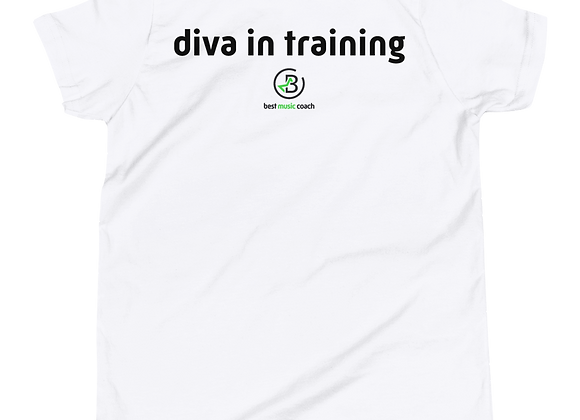 """Diva in Training"" Youth Two Sided T-Shirt"