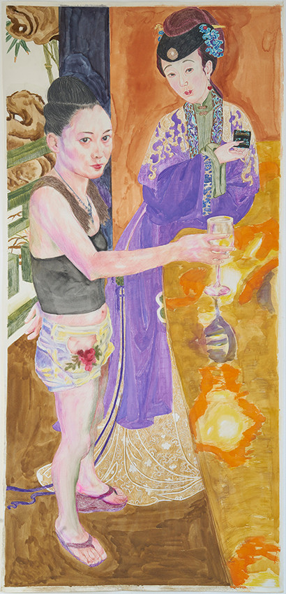 《粉色一撇》佩德罗·贝克尔的展览