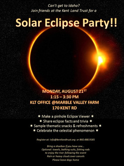 Flyer for Eclipse Event 8-21-17