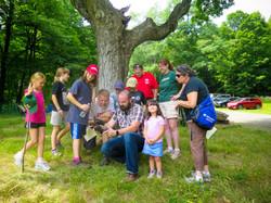 Camp Francis Girl Scout alumni at EKHNP4 7-25-15 MCherniske