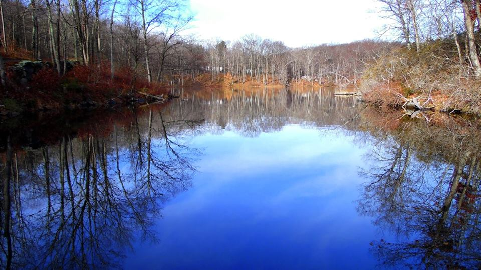 OptOutside Hike at EKHNP 11-27-15 - Beemon Pond color 2 credit MSimmons