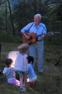 John Baker fireside concert