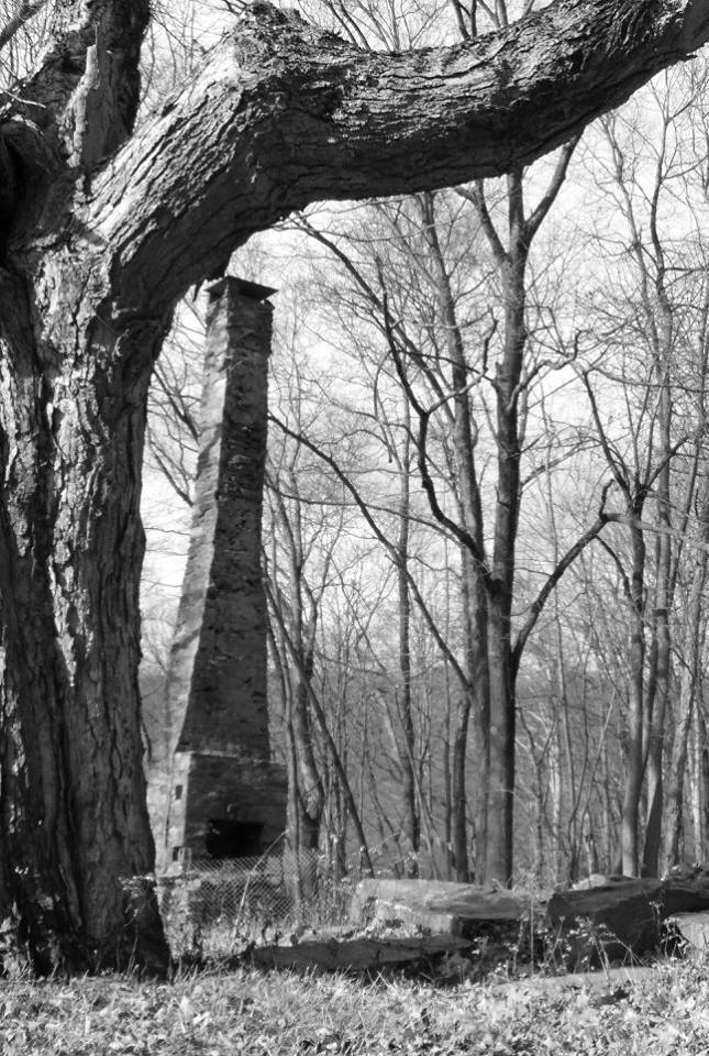 OptOutside Hike at EKHNP 11-27-15 - The Farmhouse Chimney credit MSimmons