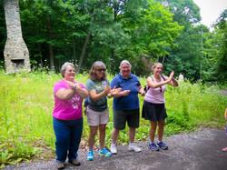 Camp Francis Girl Scout alumni at EKHNP 7-25-15