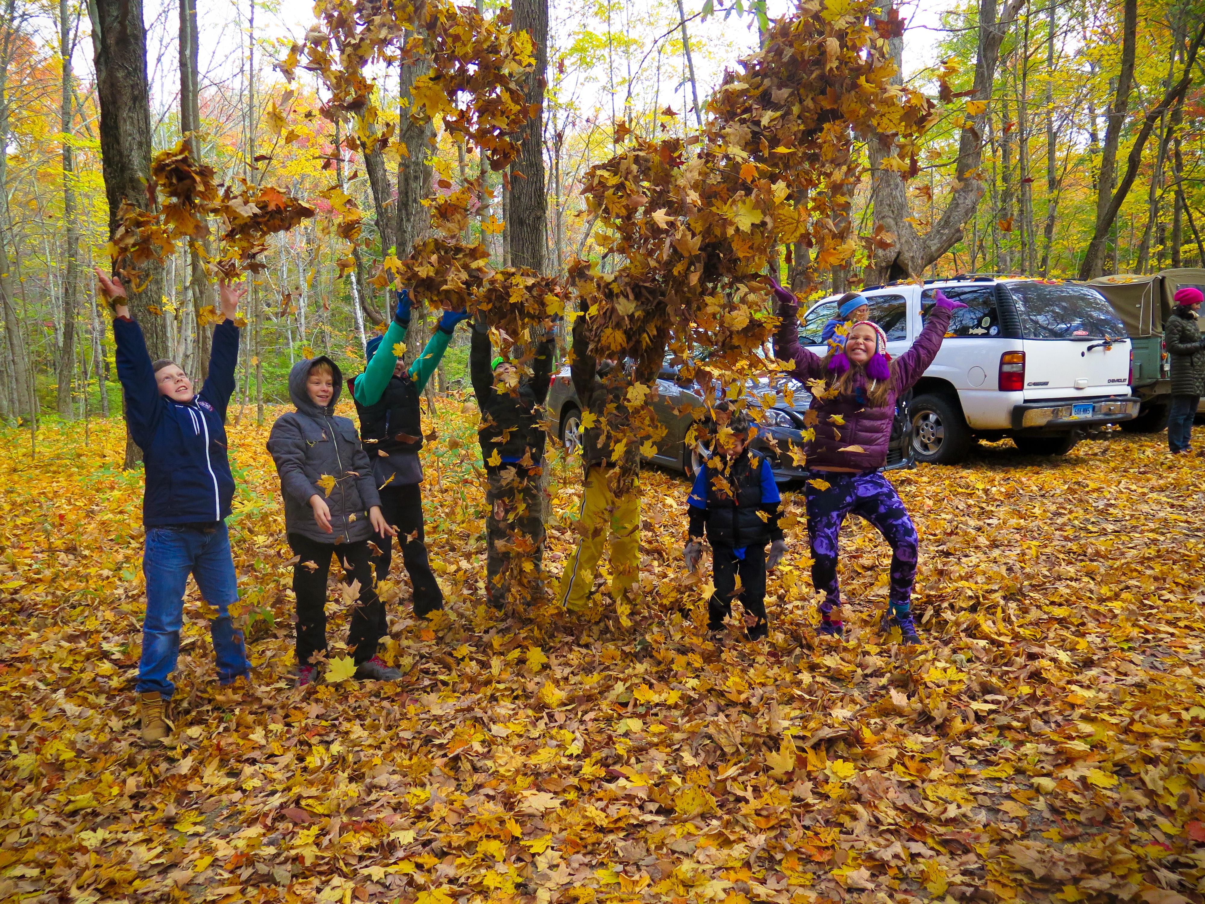 Celebrating Fall in the Tobin Preserve Oct 2015 MCherniske