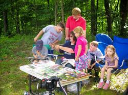 Camp Francis Girl Scout alumni at EKHNP8 7-25-15 MCherniske