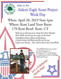 Aiden Cherniske Eagle Scout Project Work