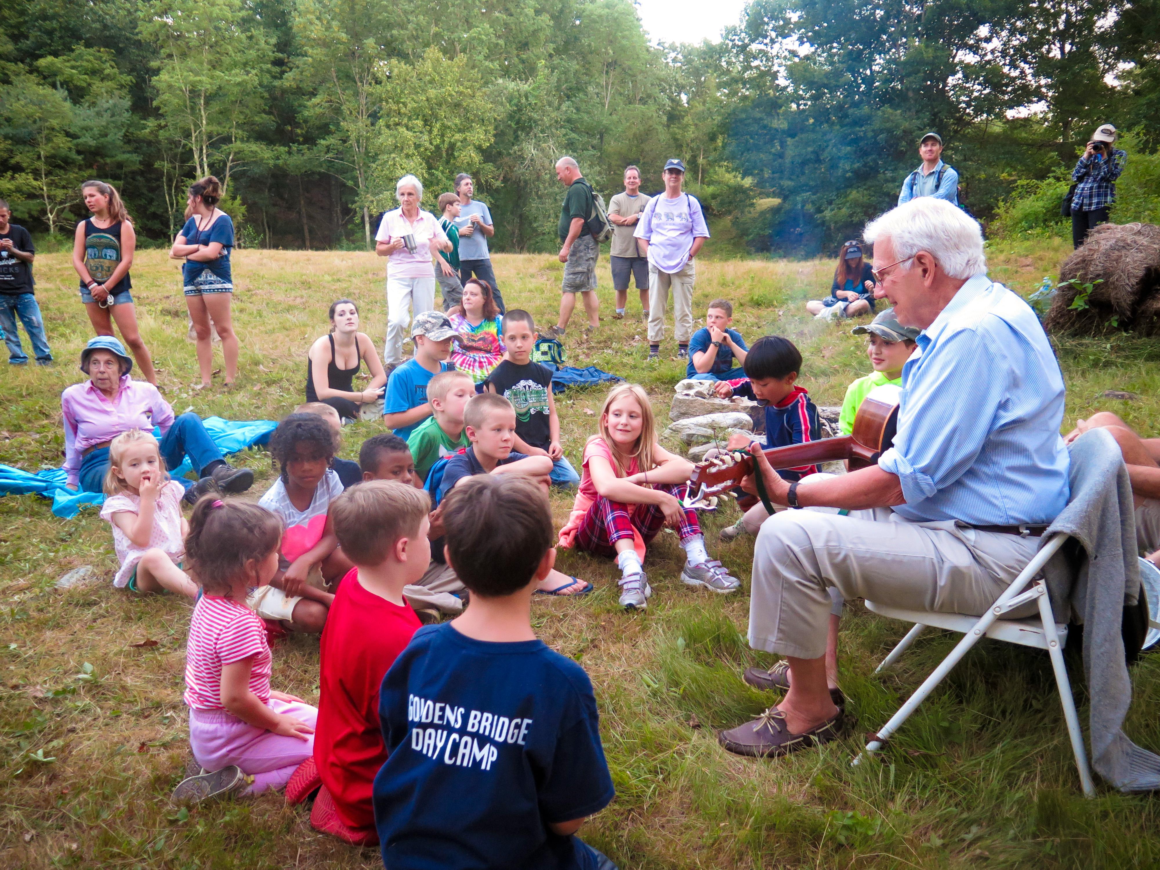 John Baker campfire concert