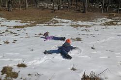 Snow angel prints