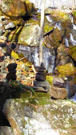 OptOutside Hike at EKHNP 11-27-15 - Falls and Cairns 2 credit MSimmons
