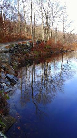 OptOutside Hike at EKHNP 11-27-15 - Beemon Pond color credit MSimmons