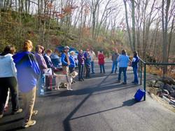 OptOutside Hike at EKHNP 11-27-15 - Hike Group credit MCherniske