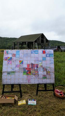 Mural and barn
