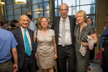 Ceremony of Prof. Arie Zaban's admission to the position of President of Bar Ilan University