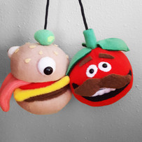 IAm8Bit -Burger and Tomato head Fortnite