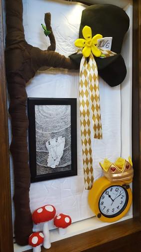 Alice in Wonderland installation 032019.