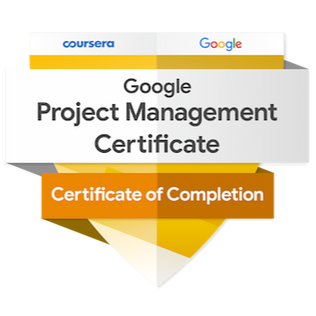 AVAILABLE SOON . . . GOOGLE PROJECT MANAGMENT CERTIFICATE