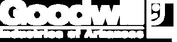 goodwill white logo