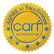 CARF accreditation seal