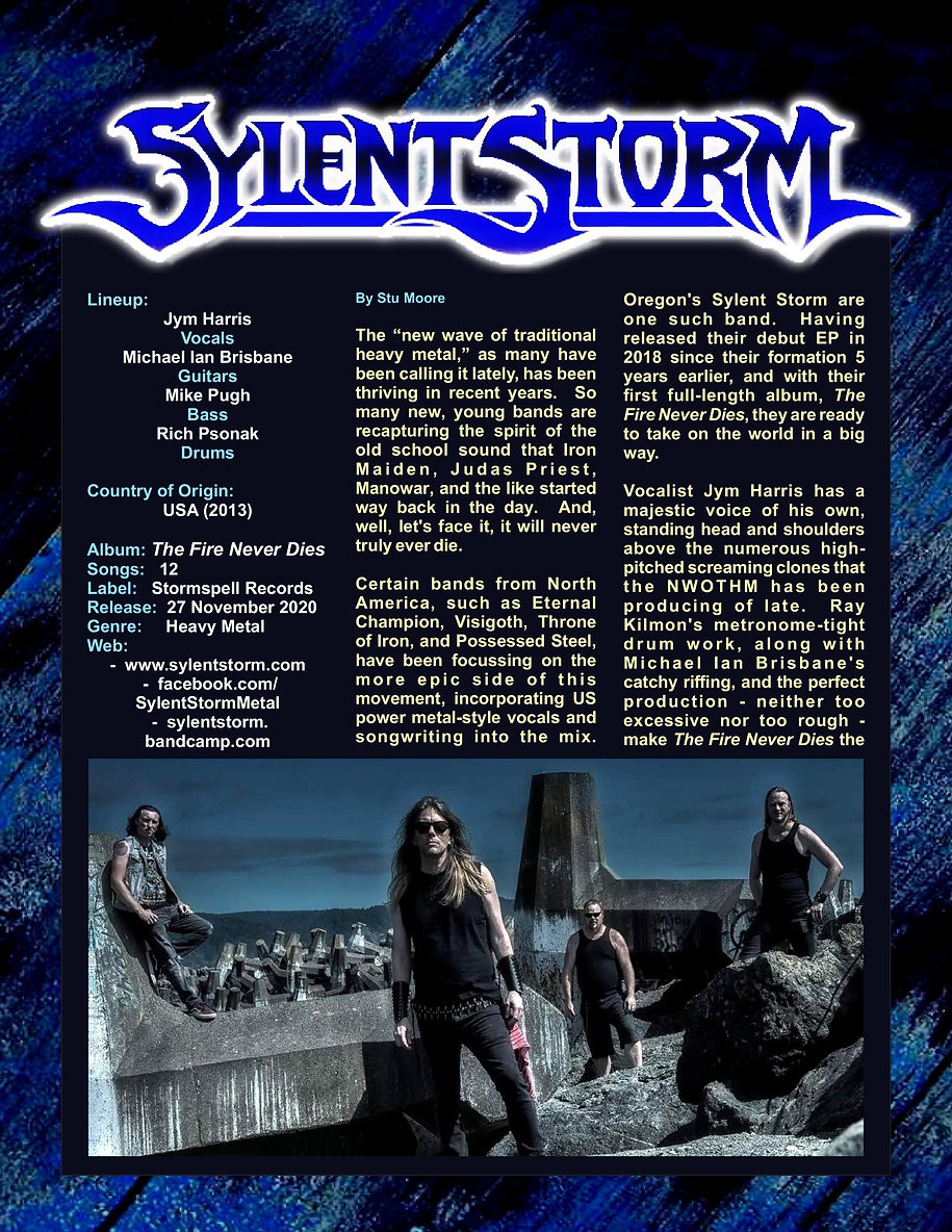 Sylent Storm - The Fire Never Dies-page-