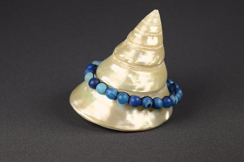 Bracelet Blue Agata