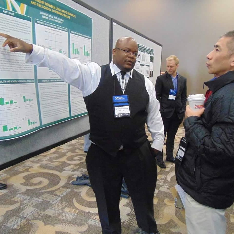 Dr. Bell Presenting Research