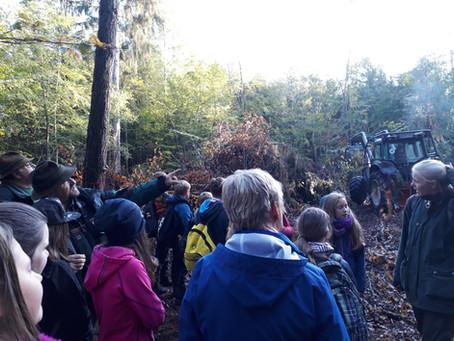 Exkursion zum Forstwirt