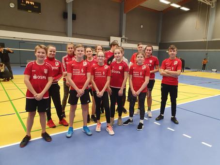 """Landesfinale im Badminton bei """"Jugend trainiert für Olympia"""" am 3.12.2019"""