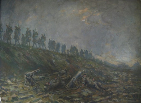 Brushes with War Exhibition 1914-1918, WW1 through the eyes of the Soldiers on the front line