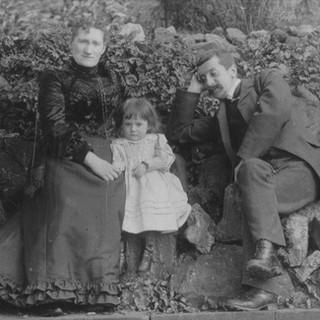 Ancestors with child