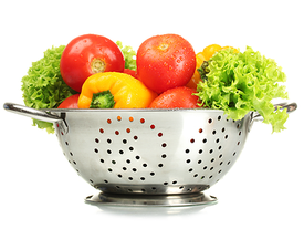 Kale and fresh veggies frittata