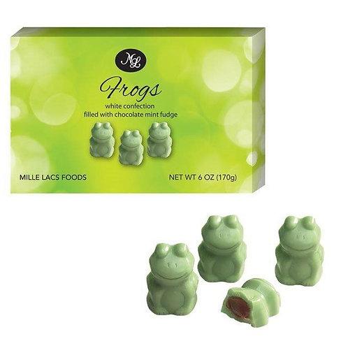 #ML48200 6oz Fudge Mint Frogs 24/cs $2.50@