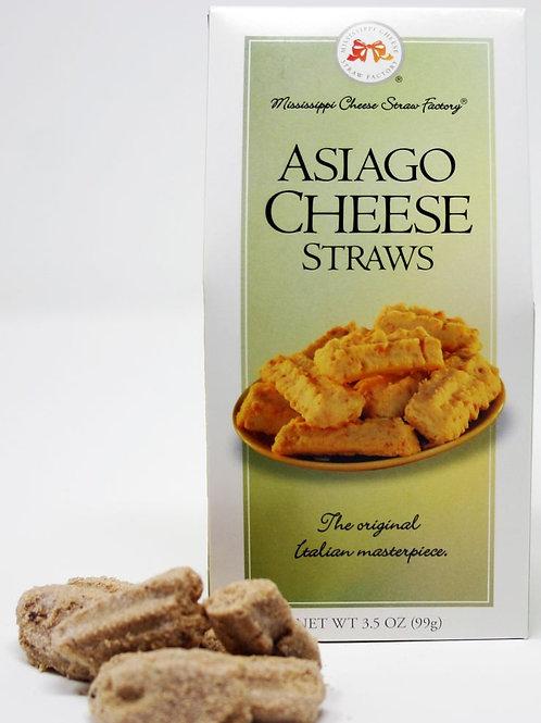 #8216 Asiago Cheese Straws 3.5oz box $3.38@ case 24