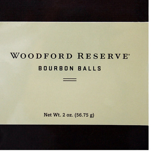 #RH004 2oz (NEW)Woodford  Bourbon Balls 4piece 12/Case $5.67@