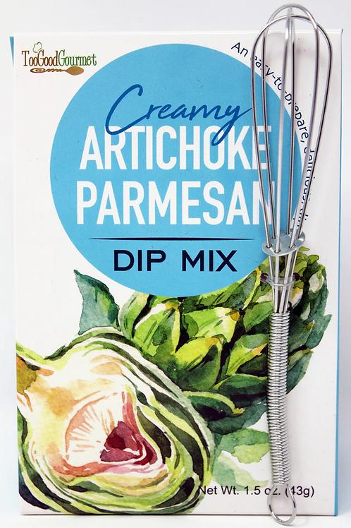 #3201 Artiohoke Dip Mix with Whisk 1.5oz size $2.85@ case 6