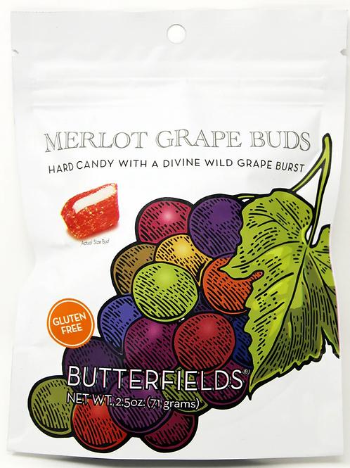 #BF007 NEW ITEM Butterfields Merlot Grape Buds $1.99@