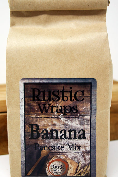 #WC5011 Rustic Wraps Banana Pancake Mix 6 case only $3.99@