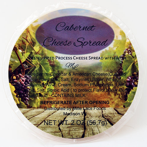 #ML43230A NEW 2oz Cabernet Wine Cheese Cups $1.00@ case 24