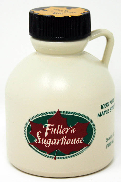 #FS046C 3.4oz Maple Syrup in Plastic Jug 12/Case $4.25 each