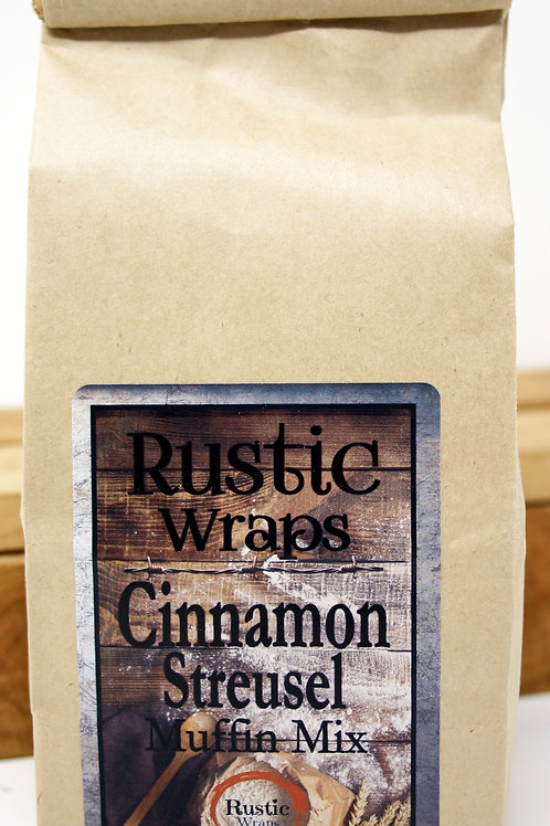 #WC5006 Rustic Wraps Cinnamon Streusel Muffin Mix $3.99@ case 6
